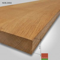 Natural Oak board 2000x350x20mm #CraftedForLife