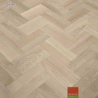 Double herringbone parquet fitting #CraftedForLife