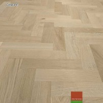 Diagonal herringbone parquet fitting #CraftedForLife