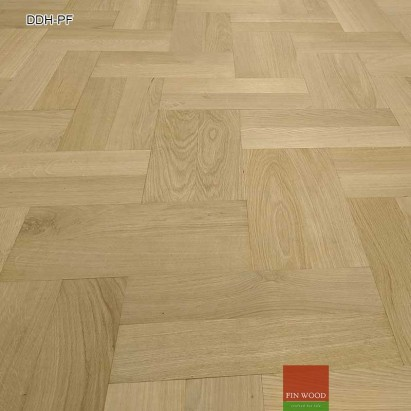 Diagonal double herringbone parquet fitting