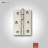1840 Butt hinge, removable pin, 75 x 49 mm 926.83.036 Hafele #CraftedForLife