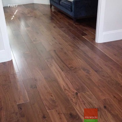 Fitting Engineered Walnut Flooring #CraftedForLife