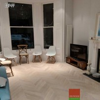 Chevron flooring London by Fin Wood Ltd