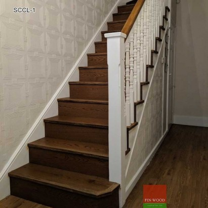 Stair Cladding - Classic look in London by Fin Wood
