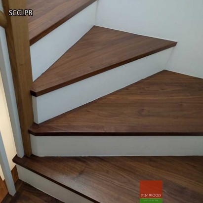 Stair Cladding - Classic look with painted risers
