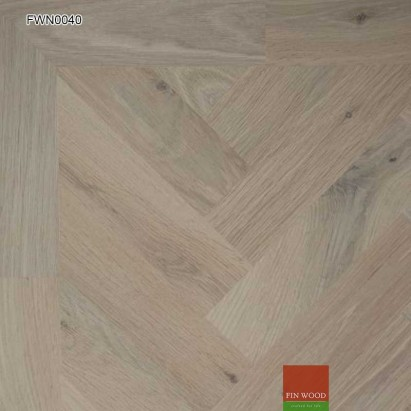 Oak Parquet Natural Unsealed 280 x 70 x 19 mm