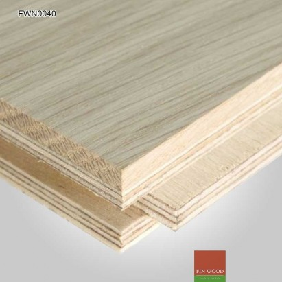 Engineered Oak Parquet Natural Unsealed 280 x 70 x 19mm