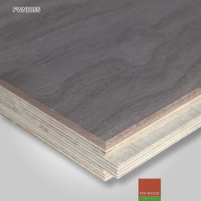 Engineered Walnut Parquet Premier Unsealed 400 x 100 x 19 mm