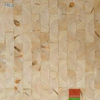 End grain - Rectangular end grain flooring fitting natural #CraftedForLife