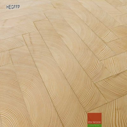 End grain -Herringbone end grain flooring fitting premier