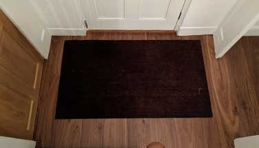 Craftsmanship - Integrated doormat