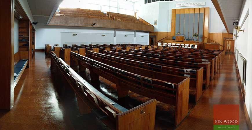 Cork Floor Restoration At Metropolitan Tabernacle