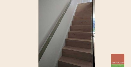 Modern Stair Cladding in W6 Shepherds