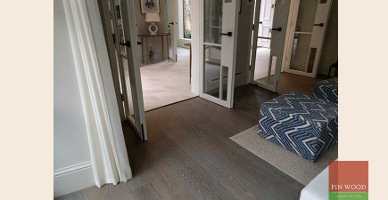 Wide Engineered Boards installation in W11 Holland Park #CraftedForLife