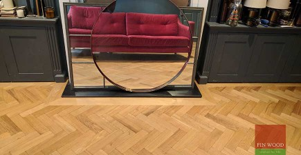 Parquet flooring transforms Highgate home #CraftedForLife