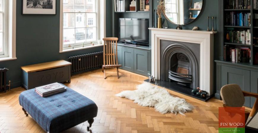 Parquet flooring transforms Highgate home #CraftedForLife