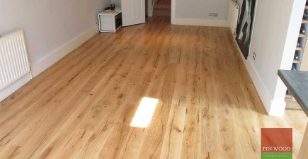 Distressed Engineered Oak Boards fitting
