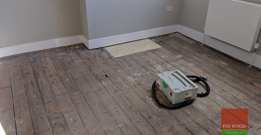 Oak Floor Replaces New Carpet After House Refurbishment