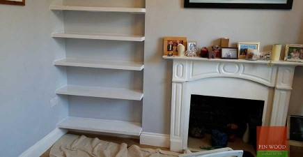 Bespoke Floating Shelves Made to Measure #CraftedForLife