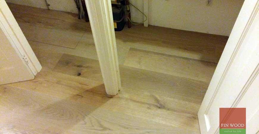Fitting Engineered Oak Coastal Grey #CraftedForLife