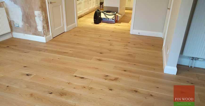 Oak Engineered Boards in Wimbledon, London #CraftedForLife