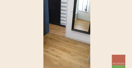 Oak Engineered Wood Flooring near Tower Bridge, London #CraftedForLife