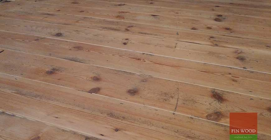 Original Pine Boards Restoration, Sanding & Painting, in Teddington, London #CraftedForLife