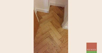 Oak Engineered Aged Parquet in Brixton, London #CraftedForLife