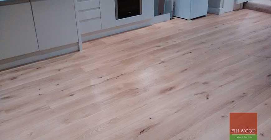 Engineered Oak Flooring in Clapham, London #CraftedForLife
