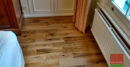 Solid Rustic Oak Flooring in Kensington, London