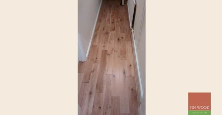 Solid Rustic Oak Flooring in Kensington, London #CraftedForLife