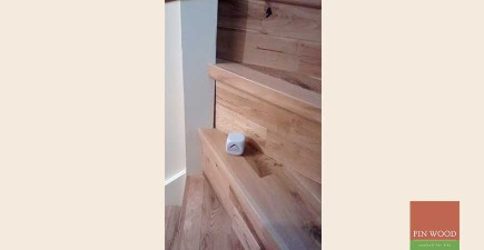 Solid Rustic Oak Flooring in Penge, London #CraftedForLife