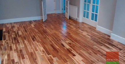 Solid Acacia Flooring in Kingswood, Surrey #CraftedForLife