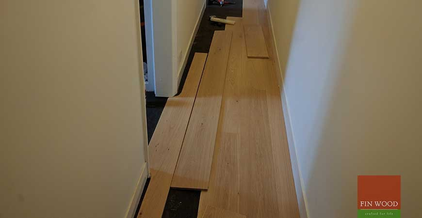 Wide Oak Engineered Boards Installation in E17 Walthamstow, London #CraftedForLife