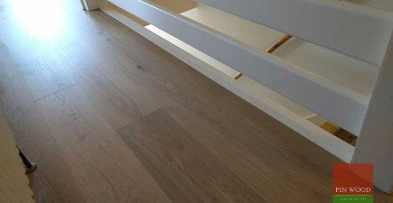 Wide Oak Engineered Boards Installation in E17 Walthamstow, London #CraftedForLife