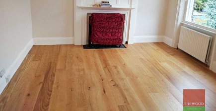Natural Look Oak Engineered Boards Installation in SW15 Putney, London
