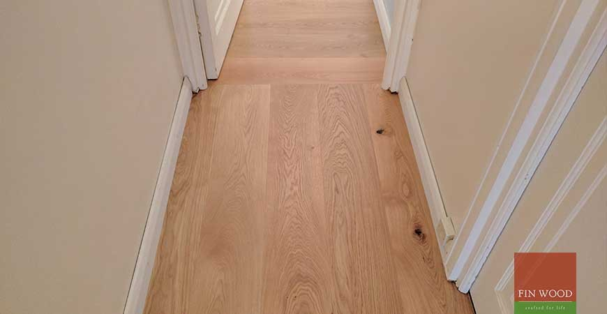Oak Engineered Boards Installation in NW6 Hampstead, London  #CraftedForLife