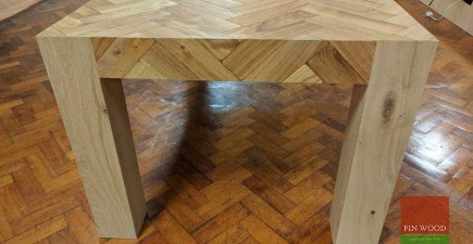 Parquet Dining Table #CraftedForLife