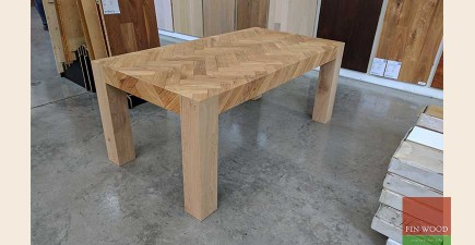 Parquet Dining Table