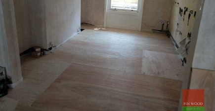Subfloor levelling and Soundproofing in N1 Camden
