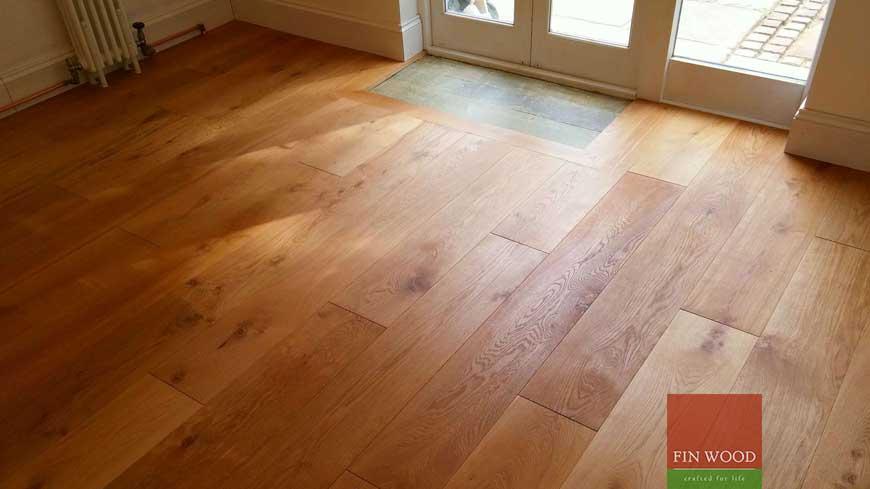 Integrated doormat in wooden flooring craftmanship 14