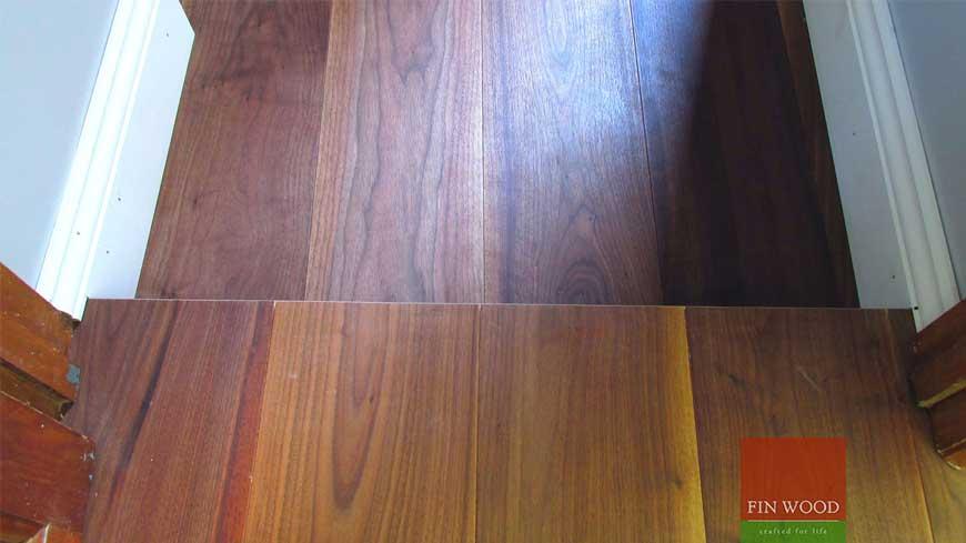 Precision finishing in wooden flooring craftmanship